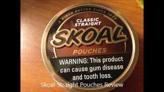 skoal straight pouches discontinued - मुफ्त