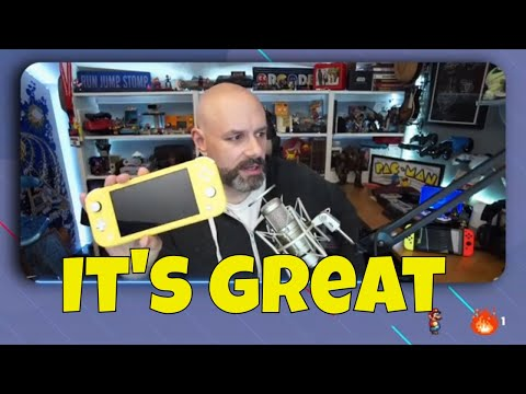 My thoughts on the Switch Lite