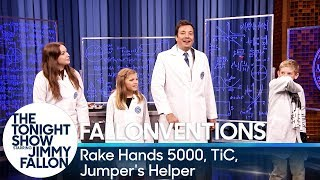 Fallonventions: Rake Hands 5000, TiC (Tongue-Interface-Communication), Jumper's Helper