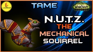 Tame N.U.T.Z the Mechanical Squirrel - WoW Legion Quick Guide
