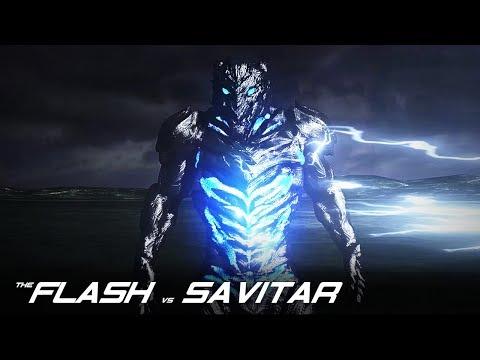 The Flash VS Savitar - CW 3D Fan Animation By Renz