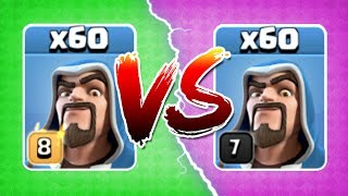 LEVEL 8 WIZARDS vs LEVEL 7! THE TRUTH!! - Clash Of Clans - GEM TO MAX LEVEL! - dooclip.me