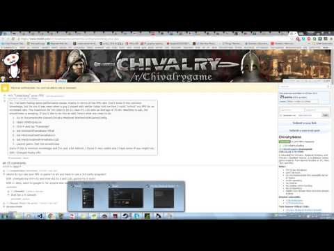 Low FPS on Arena :: Chivalry: Medieval Warfare General Discussions