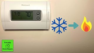 How To Switch From AC To Heat | Honeywell Thermostat