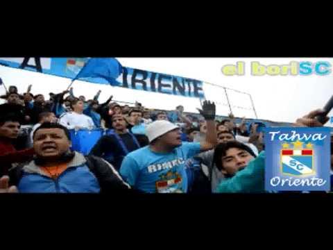"""fverza sc oriente - vengo d vn barrio SCervecero"" Barra: Fverza Oriente • Club: Sporting Cristal"