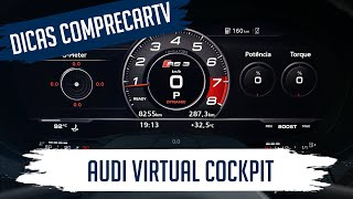Audi Virtual Cockpit - Painel 100% digital do RS3
