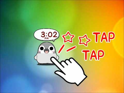 Video of Pesoguin Clock Full -Penguin-