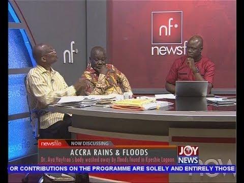 Accra Rains & Floods - Newsfile on JoyNews (23-6-18)