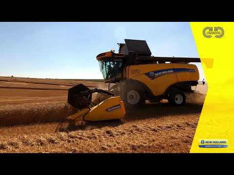 CH7.70 - test nowego kombajnu New Holland.