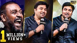 Mirchi Shiva's Ultimate Fun Speech - Crowd Laugh Like Never Before!! | BGM 2018