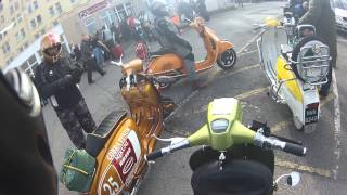 preview picture of video 'BLACKPOOL V.F.M PRE SEASON SCOOTER RALLY TRIP 2013'