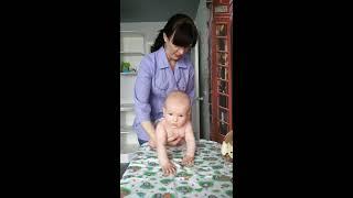 Как научиться ползать и сидеть, Детский массажист Панорама, Московский, Шанхай КРАСНОДАР