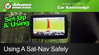 Using A Sat-Nav Safely  |  Learn to drive: Car Knowledge