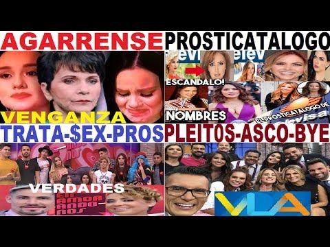 PROSTICATALOGO VLA JOSE JOSE PATI CHAPOY ENAMORÁNDONOS TELEVISA SARITA SOSA TV AZTECA JOSE JOEL ANEL
