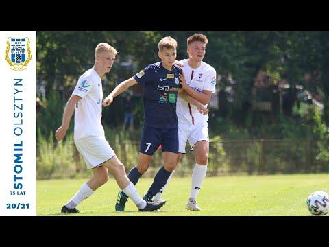 Bramki z meczu Warmia Olsztyn - Stomil II Olsztyn 0:6