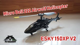 Whats new in ESKY 150X V2 Micro Bell 222 Airwolf Helicopter