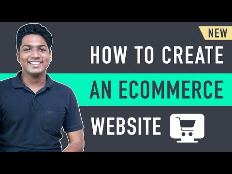 How to Make an E-Commerce Website (2021) Online Shopping Store