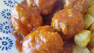 Mis albóndigas con tomate || Cocina con Rock