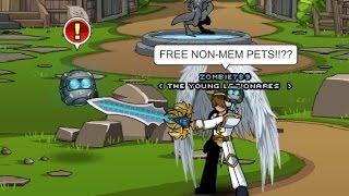 non member pets aqw