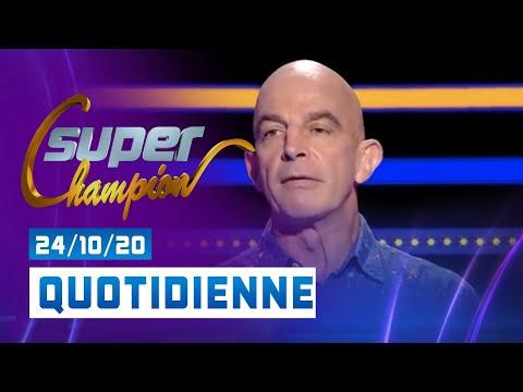 Emission du Samedi 24 Octobre 2020 - Questions pour un super champion
