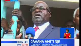 Gavana wa Homa Bay Cyprian Awiti abanduliwa ofisini kufuatia kesi ya uchaguzi