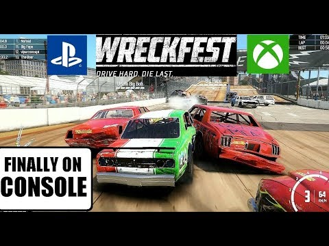 Wreckfest on PS4/Xbox1: is it worth it?