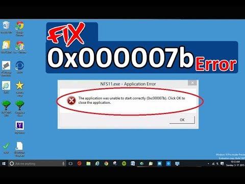 Error 0x000007b - смотреть онлайн на Hah Life