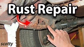 fix rusted car frames - Eastwood Frame Coating