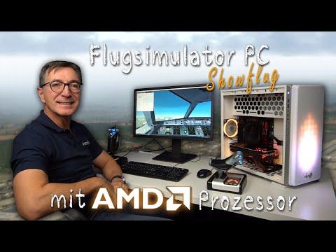 AMD Flusi PC Showflug