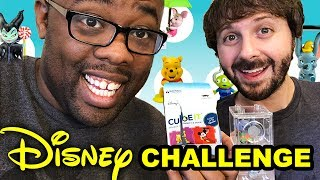 DISNEY VOICES CHALLENGE ft. Maxwell Glick & Disney Cube-It [Black Nerd]