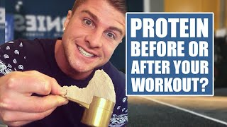 Whey Protein Before or After Workout? (Finally Answered)