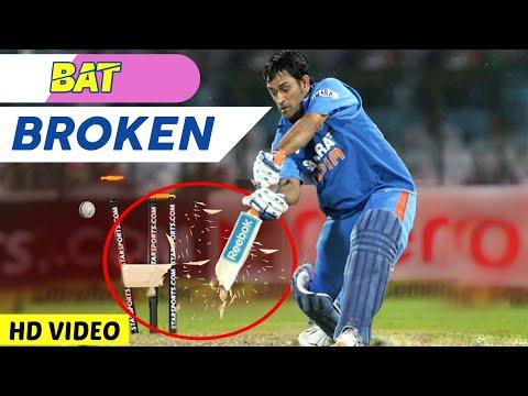 Top 14 Bats Broken Deliveries In Cricket Ever 2019   Bat Broken In Cricket   AG Flex HD