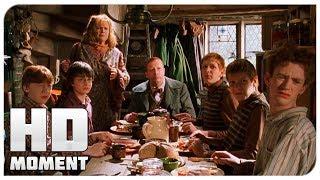 Гарри знакомится с семьей Рона - Гарри Поттер и тайная комната (2002) - Момент из фильма