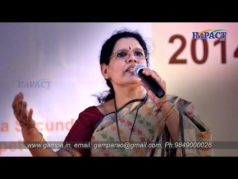Public Speaking   GLK Durga   TELUGU IMPACT Hyd 2014