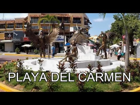 5th Avenue, Playa del Carmen, Mexico | Video Tour
