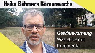 Böhmers Börsenwoche: Was uns Gewinnwarnungen verraten