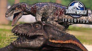 Jurassic World Evolution: MASSIVE SERIES BATTLE!!! - ALL DINOSAURS! | Jurassic World Evolution | HD