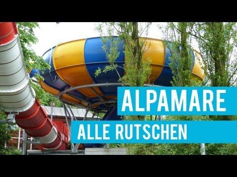 Alle Rutschbahnen im Alpamare Pfäffikon! || INSANE WATER RIDES at Alpamare!
