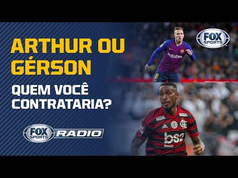 ARTHUR OU GERSON: QUEM É MELHOR? Veja o debate! | FOX Sports Rádio