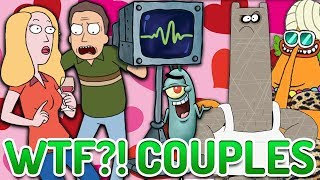 Top 10 WTF Cartoon Couples