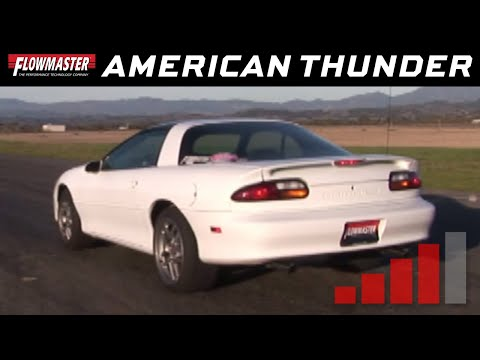 2001 Camaro 3.8L - American Thunder Cat-back Exhaust System 17358