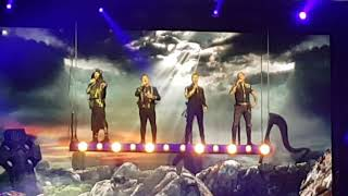 Boyzone (HD) Intro then 'Who We Are/Love Is A Hurricane. 16/2/19. Wembley Arena.