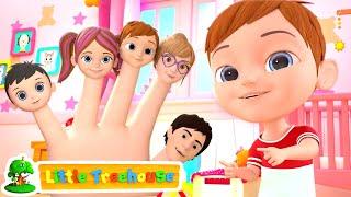 Finger Family Song   Nursery Rhymes & Music for Kids   Kindergarten Cartoons by Little Treehouse