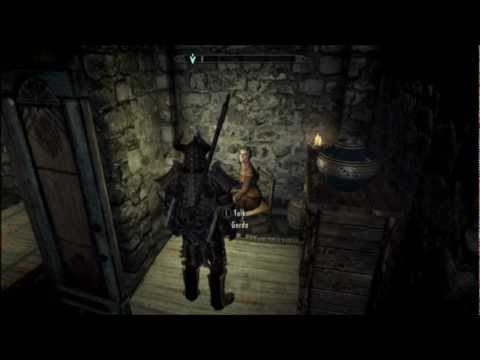 The game doesn't interact with me :( :: The Elder Scrolls V