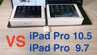 Сравнение iPad Pro 10.5 и iPad Pro 9.7