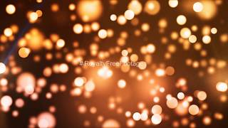 Orange bokeh effects | particles light leaks video | abstract background hd | Royalty Free Footages