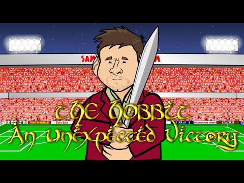 Athletic Bilbao vs FC Barcelona 4-0 -THE HOBBIT (Spanish Super Cup 1st Leg 2015 Goals Highlights)