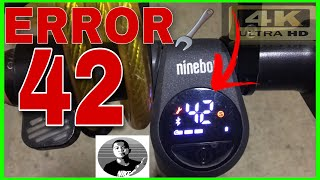 How to Easy Fix the ERROR 42 | Ninebot es3/es4 | Step by Step | James Angelo TV.