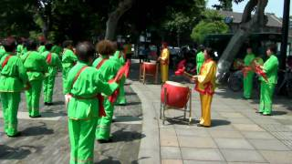 Video : China : HangZhou 杭州 drums