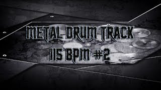 Groovy Heavy Metal Drum Track 115 BPM | Preset 2.0 (HQ,HD)